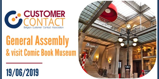 General Assembly Customer Contact + visit Comic Book Museum