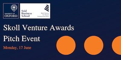 Skoll Venture Awards: Final Pitch Event
