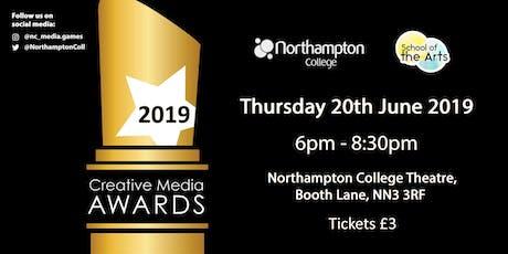 CMAs 2019: Northampton College Creative Media Awards 2019 tickets