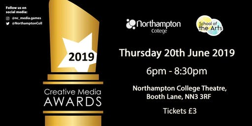 CMAs 2019: Northampton College Creative Media Awards 2019