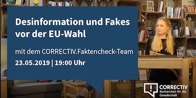 Desinformation und Fakes vor der EU-Wahl