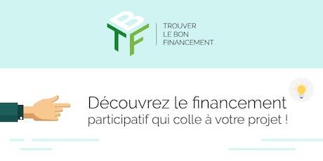 """Atelier """"Le crowdfunding : une solution pour l'amorçage de son projet ?"""" billets"""