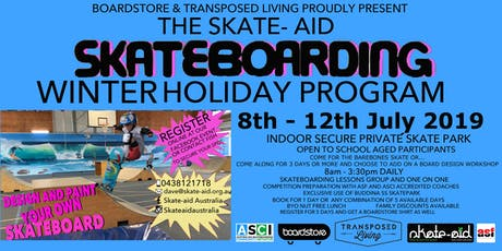 JUNE/JULY HOLIDAY SKATE PROGRAM 2019 tickets