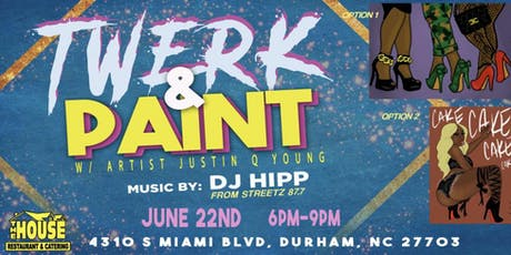Twerk & Paint - Durham,NC tickets