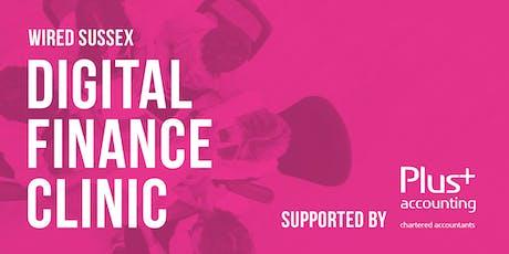 Wired Sussex Digital Finance Clinic tickets