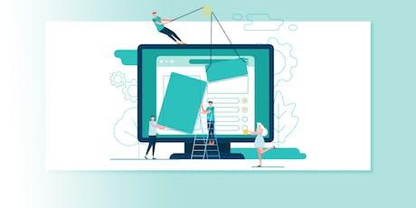 Onlinepräsenz für junge Unternehmen Tickets