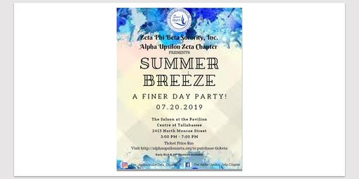 Summer Breeze: A FINER Day Party