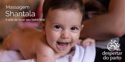 Curso de Massagem Shantala - A arte de fazer seu bebê feliz