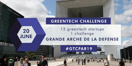 GREENTECH CHALLENGE Investor Day Paris 2019 tickets
