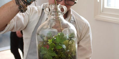 Terrarium workshop - build your own garden in a bottle tickets