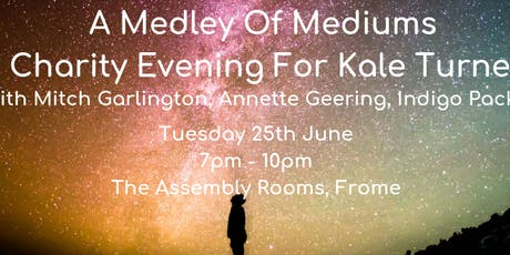 A Medley Of Mediums - Charity Event With Mitch Garlington, Annette Geering & Indigo Packman tickets