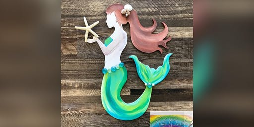 Mermaid: LaPlata, Greene Turtle with Artist Katie Detrich!