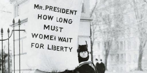 Suffragists at the White House