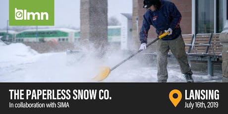 The Paperless Snow Co.- Lansing, MI tickets