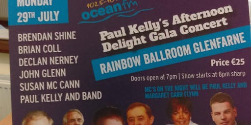 Paul Kellys Afternoon Delight Gala Concert