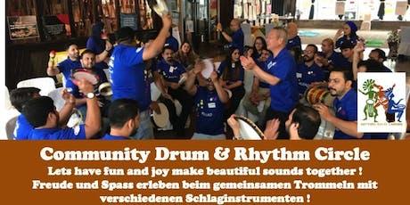 Community Drum & Rhythm Circle @ Quartiertreffpunkt Wettstein tickets