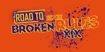 wXw Wrestling: Road to Broken Rules - Bielefeld