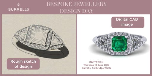 BURRELLS BESPOKE JEWELLERY DESIGN DAY - TUNBRIDGE WELLS