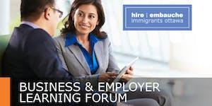 HIO Employer Learning Forum