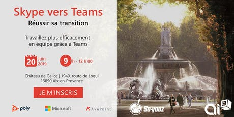 Skype to Teams: réussir sa transition! billets