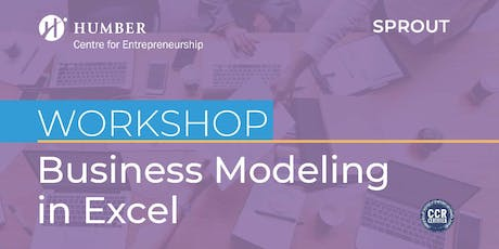 Sprout: Business Modelling in Excel (Lakeshore Campus) tickets