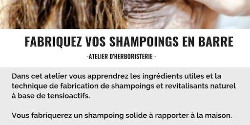 Apprenez à fabriquer votre shampoing en barre