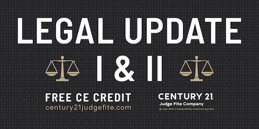 TREC Legal Update I and II - 9.11.19