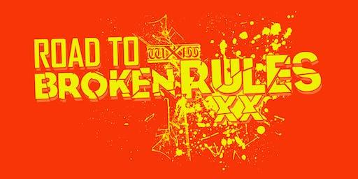 wXw Wrestling: Road to Broken Rules - Borken