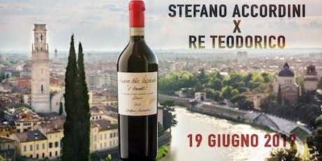 Stefano Accordini X Re Teodorico - presentazione Il Fornetto 2012 biglietti