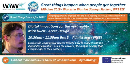 Digital Innovation for the next reality; Mick Hurst - Areca Design