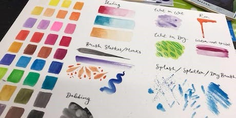 Introduction to Watercolours tickets