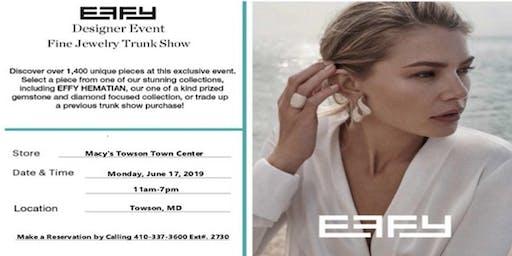 Macy's Effy Fine Jewelry Trunk Show