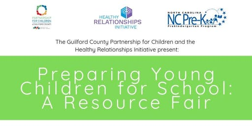 Preparing Young Children for School: A Resource Fair