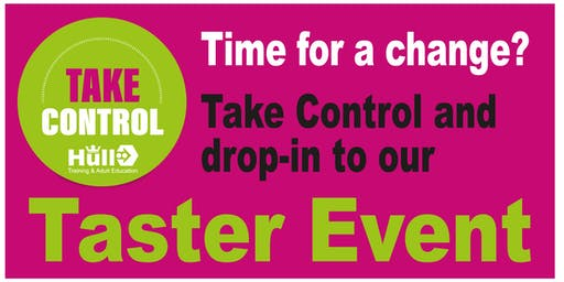 Take Control - Taster Event