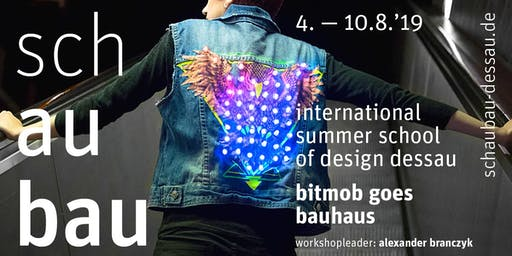 schaubau – international summer school of design dessau