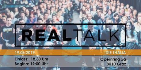 RealTalk VI - Ein Event, das Leben verändert Tickets