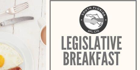 South Florida AFL-CIO 2019 Legislative Breakfast tickets