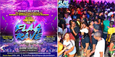 "BALTIMORE/ WASHINGTON D.C. CARIBBEAN CARNIVAL ANNUAL ""FLAG RAVE"" tickets"