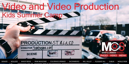 Kid's Summer Camp: Videography & Video Production