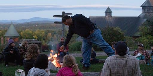 Summer Campfire with Abenaki Chief Don Stevens: Abenaki Drumming and Life on the Land
