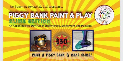Piggy Paint and Play (Slime Edition)