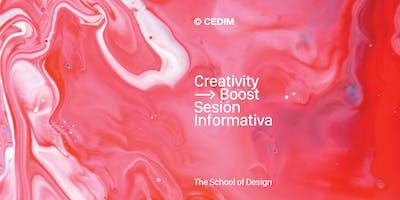 Creativity Boost - Sesión Informativa