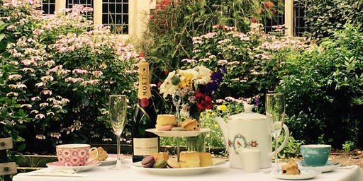 Vintage-style Summer afternoon tea
