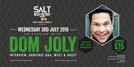 An Evening With Dom Joly tickets