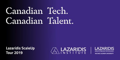 Lazaridis ScaleUp Tour 2019 Winnipeg tickets