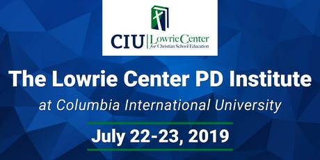 The Lowrie Center PD Institute tickets