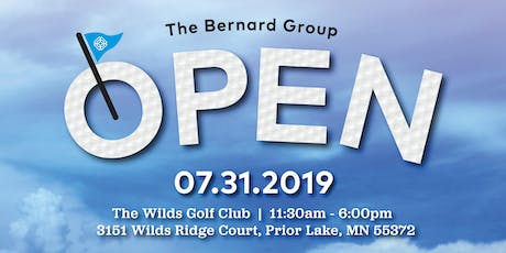 The Bernard Group Open 2019 tickets