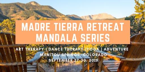 Expressive Therapy Retreat Mandala Series, Creative Arts and Yoga Retreat in Colorado