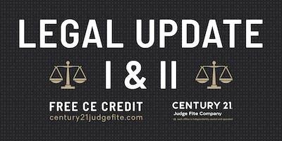 TREC Legal Update I and II - 11.13.19