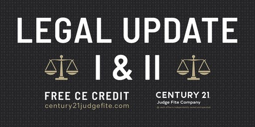 TREC Legal Update I and II - 11.13.19